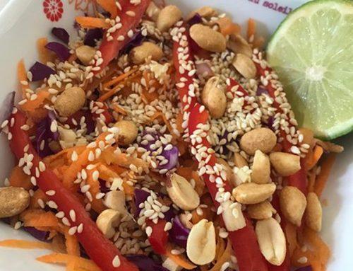 Salade thaï à ma façon